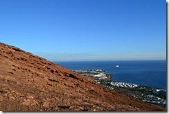 Montaña Roja en Lanzarote